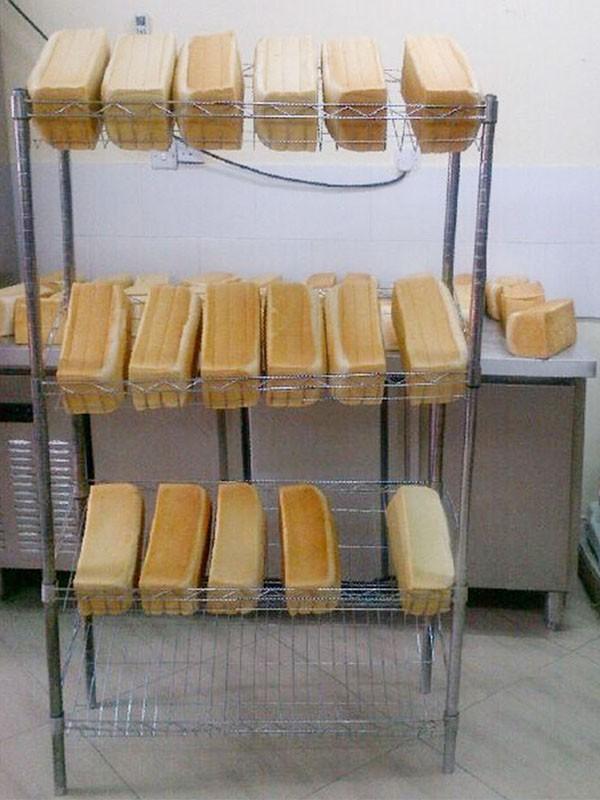 面包房面包储存展示冷却架