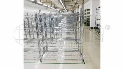 金属线网置物架组成配件有哪些?