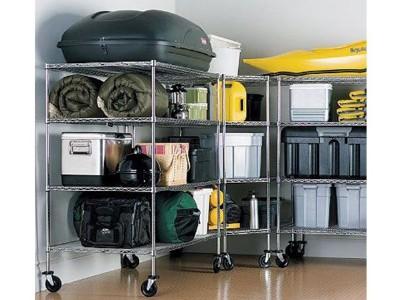 杂物间杂物货架车库货架可移动多层储物室层架