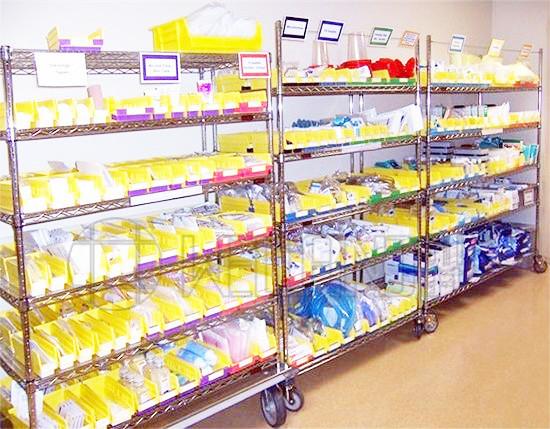 医院科室储物,无菌室储物,药房储物置物收纳架
