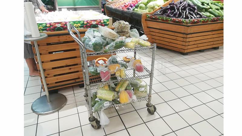 商场用拣货推车拣货车超市拣货手推车