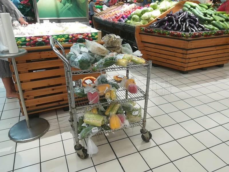 商场用拣货推车拣货车超市拣货手推车-川井(1)