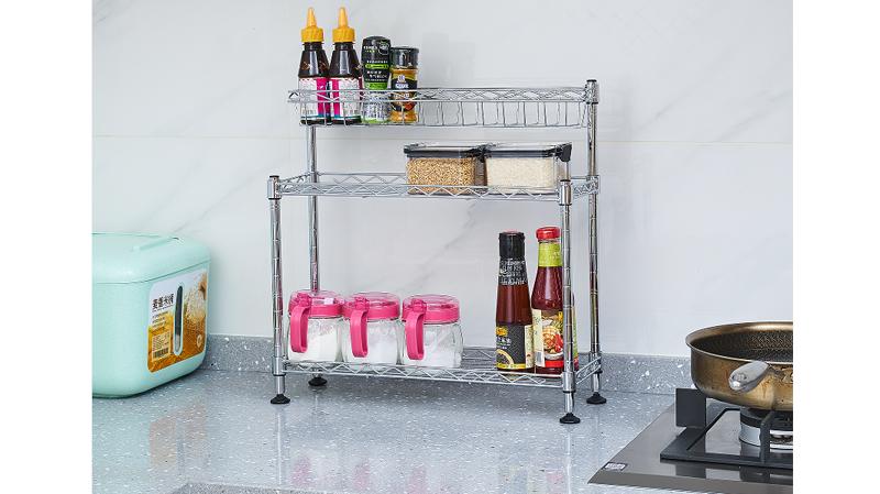 如何安装厨房置物架,详解厨房置物架安装位置-川井