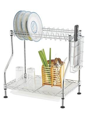 碗筷餐具沥水整理架
