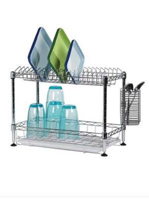 迷你厨房碗碟沥水架