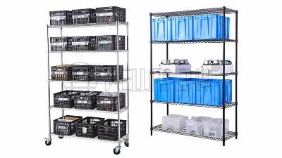 碳钢镀铬线网货架的设计理念