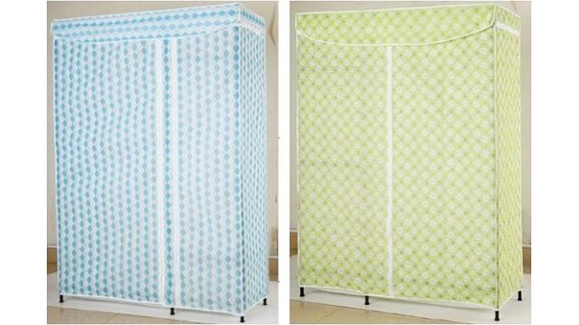 比较简易衣橱布衣柜的布罩材质-无纺布与牛津布