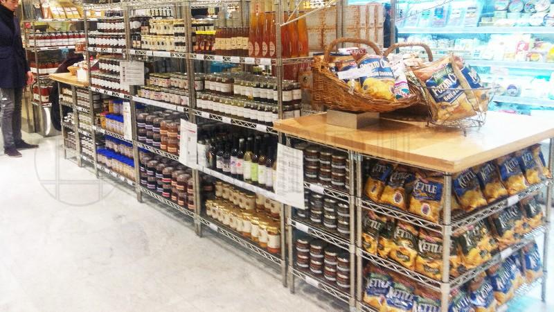 乐天超市商场展示货架、免税店货架案例