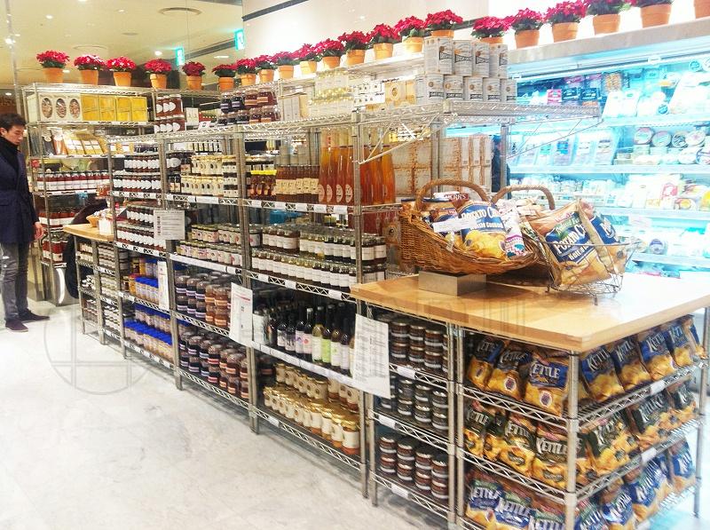 超市商场展示货架,免税店货架,商品陈列架-川井