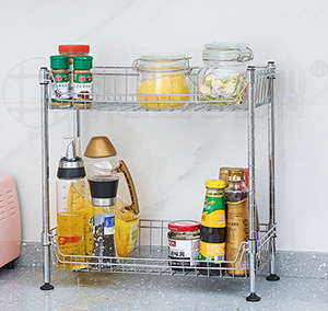 迷你厨房调味料罐子网篮置物架