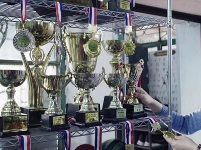 奖杯置物架奖牌金属储物货架